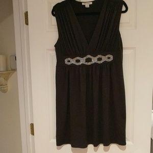 White House Black Market Black Tunic